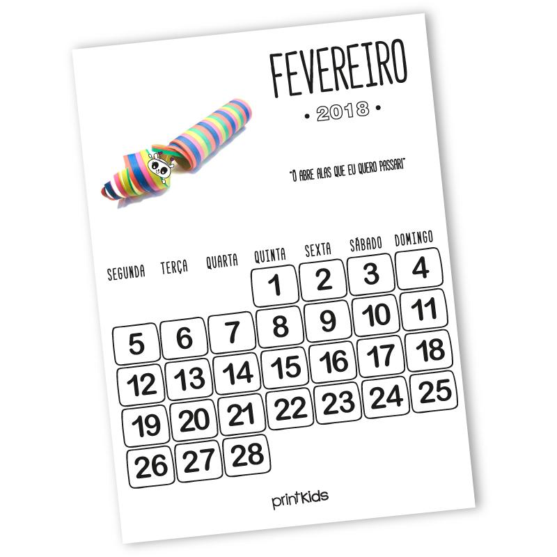 calendario-fevereiro-2018-printkids