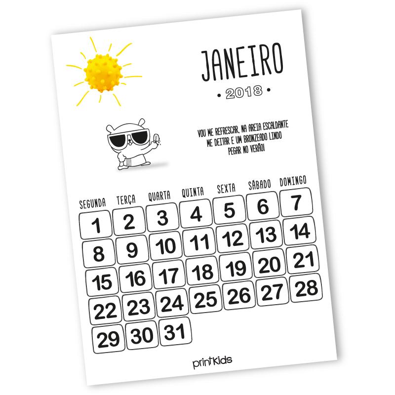 calendario-janeiro-2018-printkids