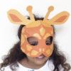 mascara girafa